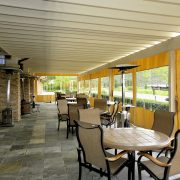Clear Panel Patio Enclosure Curtains