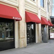 Restaurant Entrance/Window Awnings