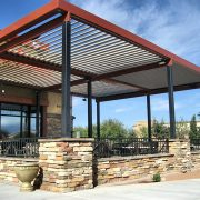 Equinox® Louvered Aluminum Patio Cover