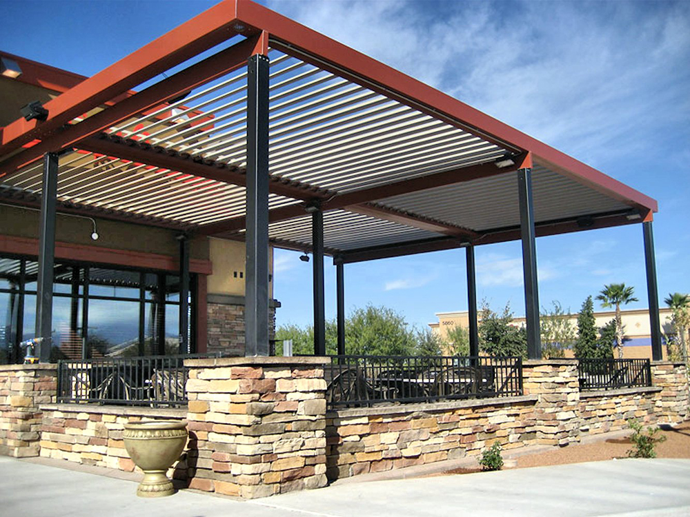 brand new 0652a f4f8f Restaurant Awnings and Covers | Superior Awning