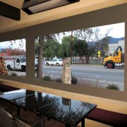 Clear Panel Patio Drop Shades