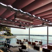 Slide Wire Dining Patio Cover