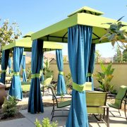 Poolside Dining Cabanas