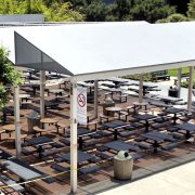 Institutional Dining Patio Covers