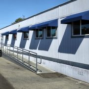 Portable Classroom Awnings