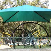 Playground Tension Shade Structure