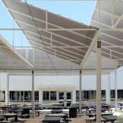 Lunch Room Shade Structures