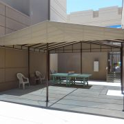 Courtyard Shade Cabana