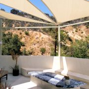 Rooftop Patio Shade Sails