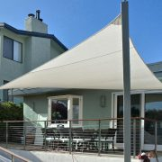 Shade Sail Patio Cover