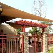 Dining Patio Shade Sails
