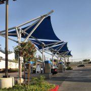 Car Wash Shade Sail Structures