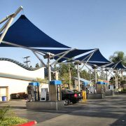 Shade Sail Tension Structures