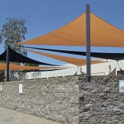 Sport Court Shade Sails