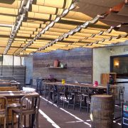 Restaurant Patio Slide Wire Canopy