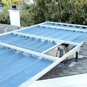 Slide Wire Canopy with Steel Frame