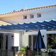 Frameless Slide Wire Canopy
