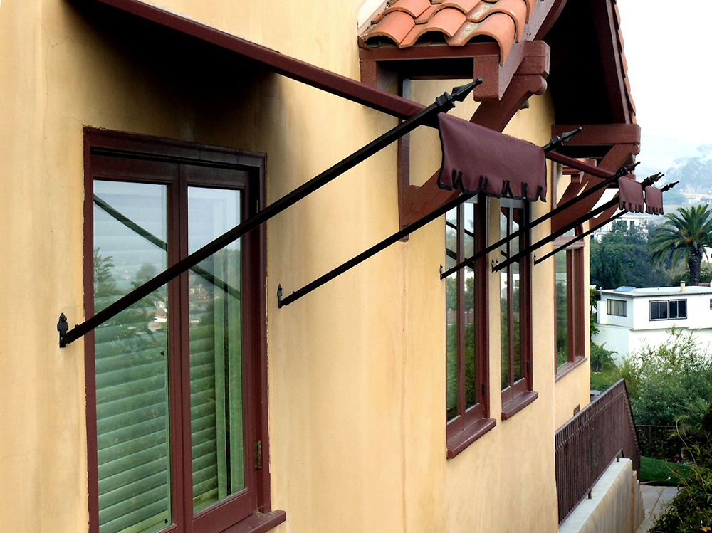 Spear or Scroll Awnings | Superior Awning