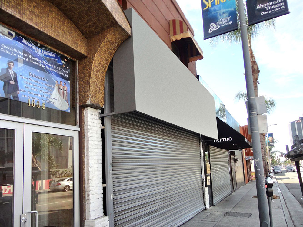 Storefront Awnings Superior Awning