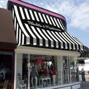 Concave Storefront Awning