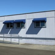 Portable Building Window Awnings
