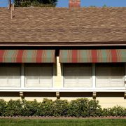 Canvas Window Awning