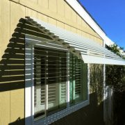 Fixed Louver Aluminum Window Awning
