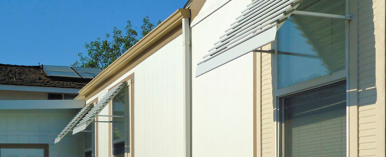 Fixed Louver Aluminum Superior Awning